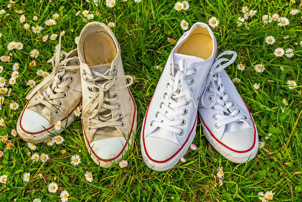 Beyaz Ayakkabı Temizliği