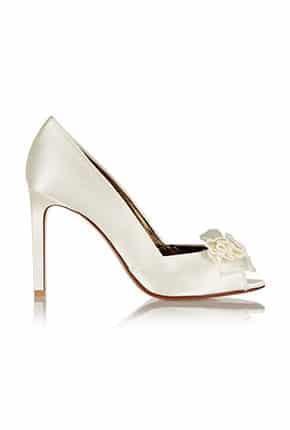 Fiyonklu Gelin Ayakkabısı Modelleri