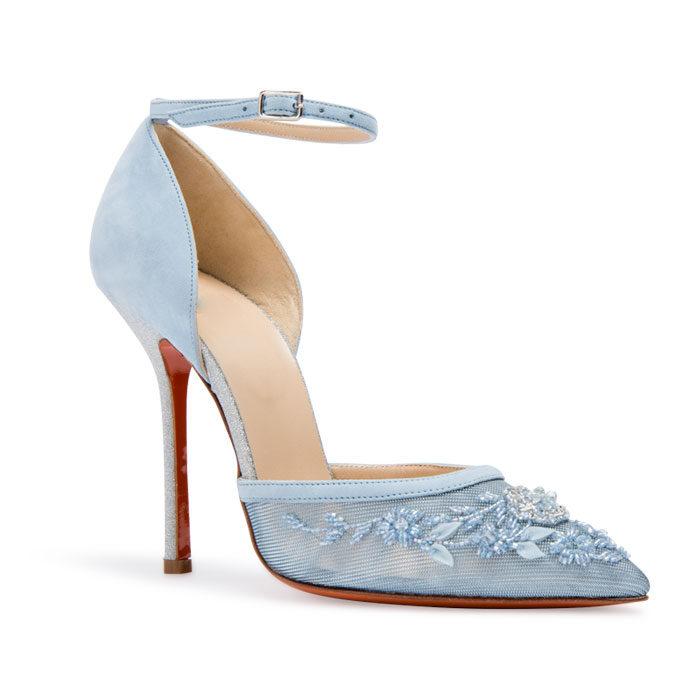 Hedo Renkli Gelinlik Ayakkabısı