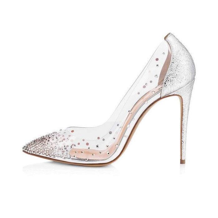 Hedo Stiletto Gelin Ayakkabısı