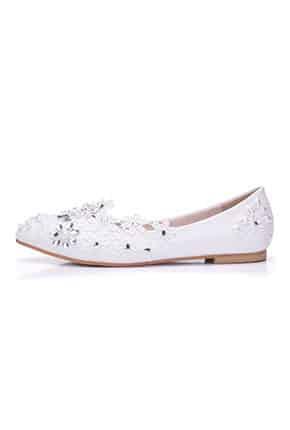 İnci Gelin Ayakkabısı