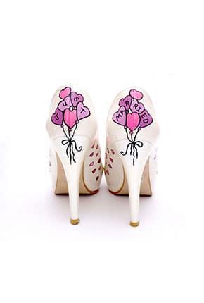 İsimli Gelin Ayakkabısı Modelleri