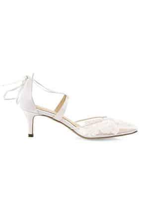 Kısa Topuk Gelin Ayakkabısı