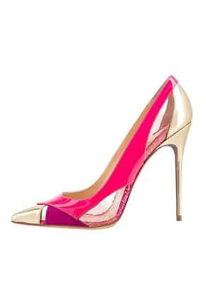 Pembe Topuklu Gelin Ayakkabısı