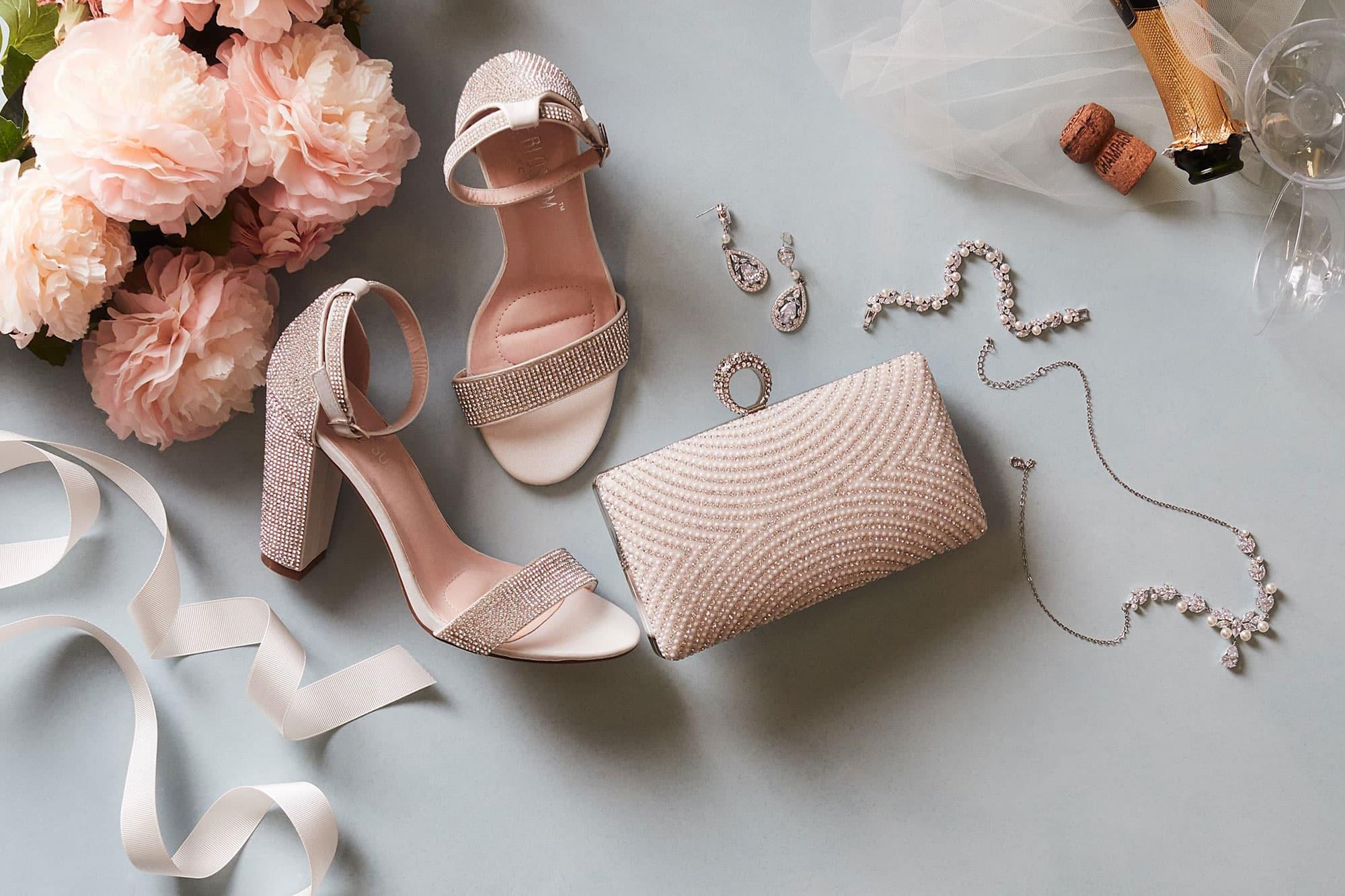 Gelin Ayakkabısı Renk Seçimi Çiçek Çanta Kombini